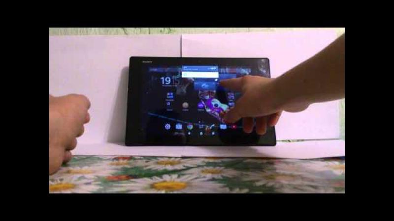 Обзор планшета Sony Tablet Z2.