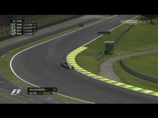 F1 2015. Гран-при Бразилии. Квалификация [SkySports F1]