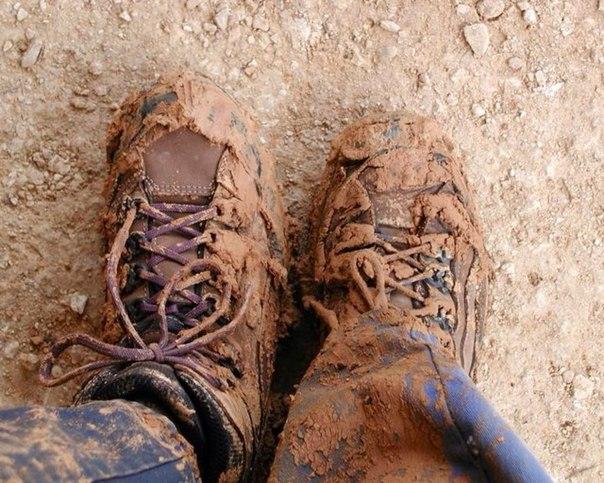 Как ухаживать за обувью в непогоду.