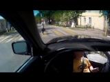 Вождение по городу с комментариями (Как сдавать экзамен по вождению) (часть 1)