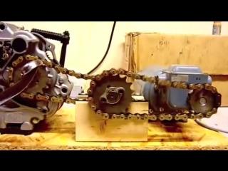 Принцип работы двигателя мопеда альфа-дельта