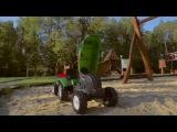 Игрушки для детей - Трактор, Телега, Самосвал.  Развивающий мультфильм для детей.