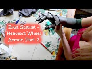 Erza Scarlet Heaven's Wheel Armor Cosplay, Part 2
