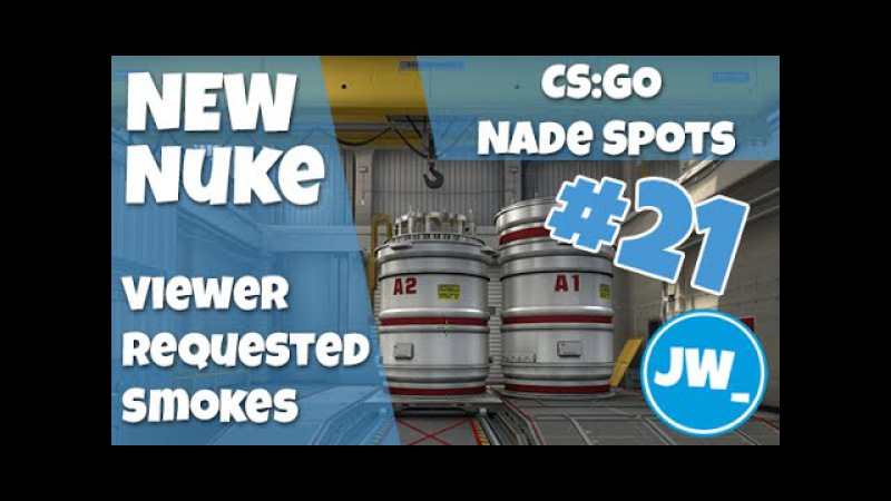 NEW NUKE - VIEWER REQUESTED SMOKES - CS:GO Nade Spots, Jamiew_