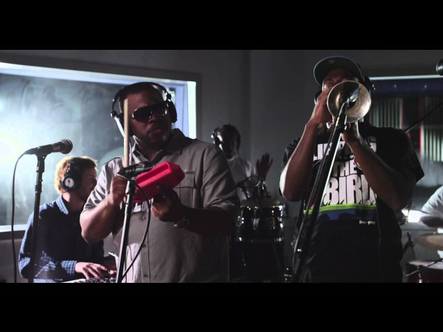 Stooges Brass Band perform Wind It Up Live at Red Bull Studio Sessions