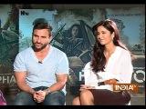 Phantom Saif Ali Khan and Katrina Kaif Exclusive Interview - India TV