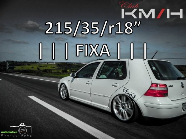 Golf Generation Susp FIXA aro18 - Alkaida Preparações Automotiva -    Perfeição Intensa    Kmph