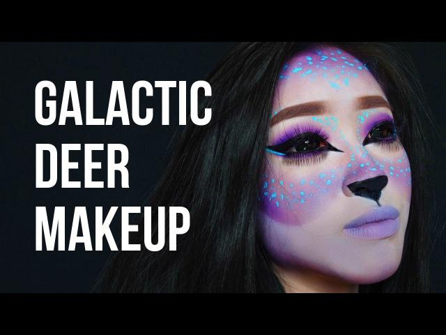 Galactic Deer Makeup | Marcella Febrianne
