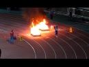 Fire Sport Эстафета 4x100 сборные команды России Relay 4x100 national Russian teams