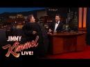 "Ben Affleck Sneaks Matt Damon Onto ""Jimmy Kimmel Live!"