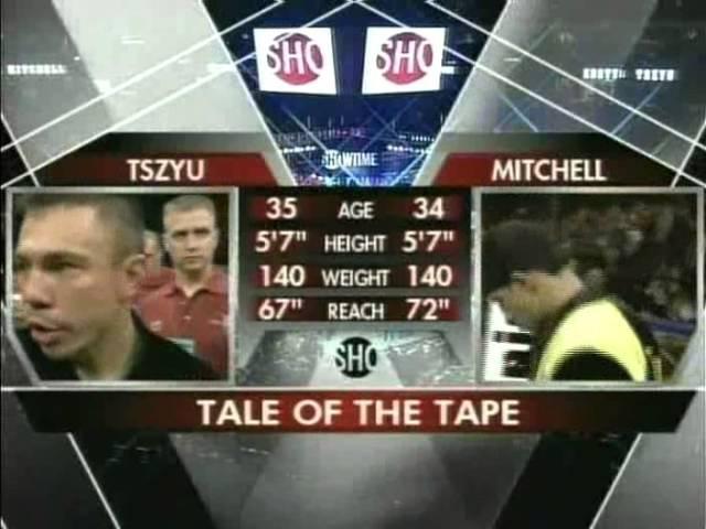 Kostya Tszyu v Shamba Mitchell II 6 November 2004 Phoenix Arizona USA
