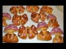 Детские фигурки булочки из дрожжевого теста архивное видео