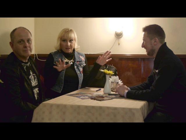Интервью с группой Фристайл и Леной Дарк 9 февраля 2016 в Житомире