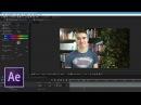 Пост обработка отснятого видео в After Effects