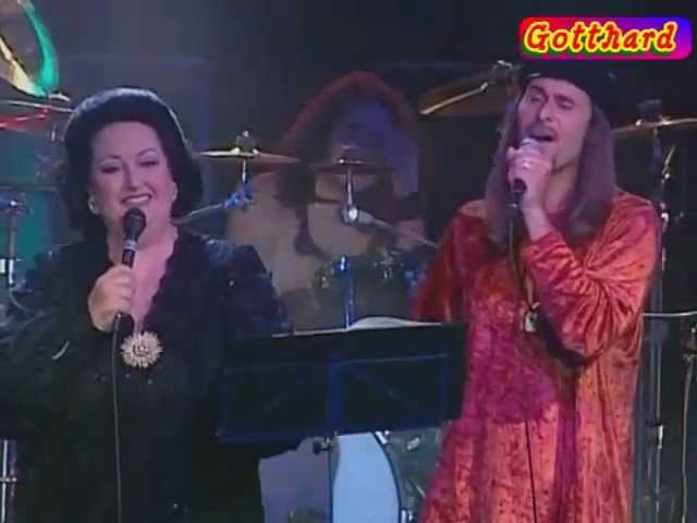 Gotthard Monserat Caballe - One night, one soul (Live in Locarno, 2007)