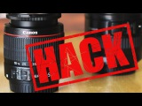 Photo101 Canon Kit Lens to 'L' lens HACK! It's so easy