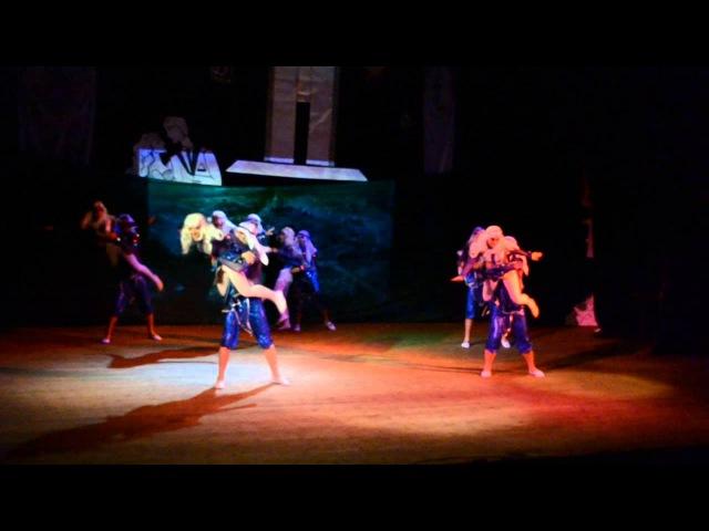СПО Дзержинец Сердце Атлантиды Конкурс танца 2013