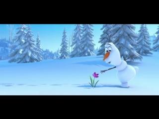 Весёлый мультик о снеговике, который потерял нос-морковку