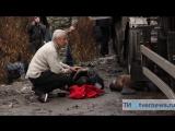 Фура врезалась в толпу протестующих дальнобойщиков под Тверью. (19.11.2015)