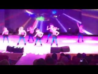 Команда Zumba kids на конкурсе талантов Полярная звездочка 2016