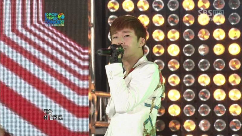 120809 INFINITE - The Chaser (Kpop Super Concert In Yeosu Expo)