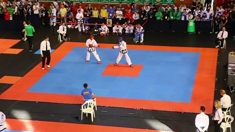 Andrey Li (RUS) vs. Korolovych Vladyslav (UKR) - 57kg - Round 1 - WC 2013 Benidorm (Spain) 2013