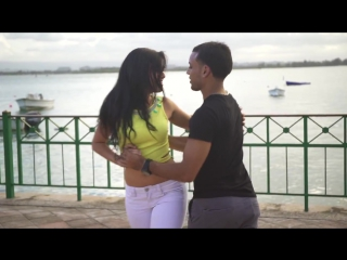 Griselle y Adriel - Kizomba - Lento