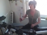 Kayleigh Rogerson - Beating heart baby (Head Automatica drum cover)