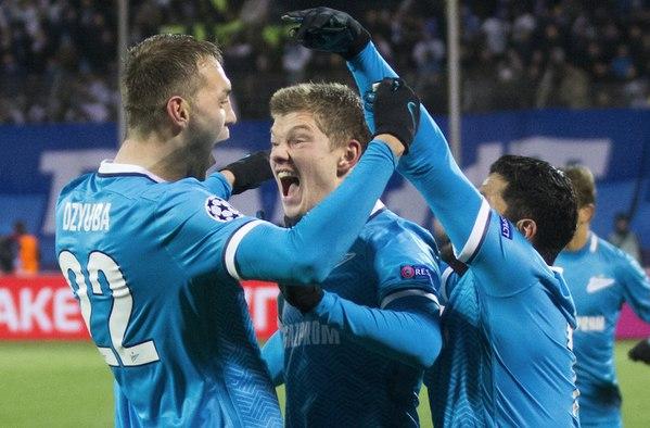 Артем Дзюба впервые в карьере забил в четырех матчах Лиги чемпионов подряд