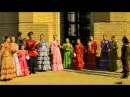 Образцовый фольклорный ансамбль «Ягодка» в храме Святого Иоанна Кронштадтского.