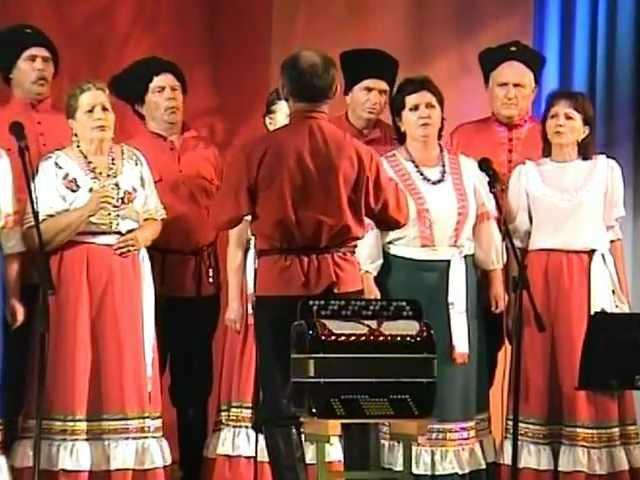 09 Ой, на горе огонь горыть Челбасский народный казачий хор 2012 06 12
