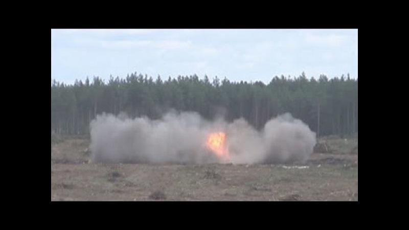 Крушение вертолета Ми-28Н на полигоне Дубровичи
