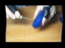 МК Как подшить валяные тапочки часть 2
