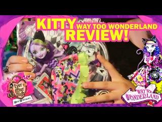 🐱 Kitty Cheshire Way too Wonderland - Ever After High Rumbo al País de las Maravillas