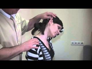Эффективные упражнения при боли в шее от врача (лечение шейного остеохондроза).