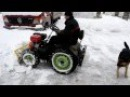 Самодельный трактор для уборки снега