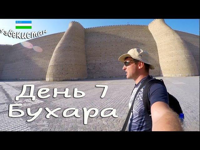 УЗбекистан. День 7. Бухара. Затопили соседей. Гуляем, как обычные иносранцы) Vlog