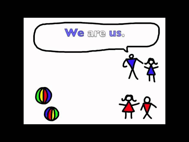 Object Pronouns Song - I Am Me, You Are You - Rockin' English