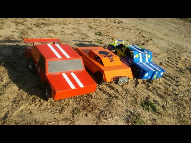 ДЕРБИ, часть 2 ... Обзор моделей для дерби (RC car derby)