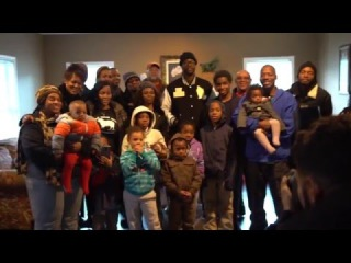 2 Chainz Donates a 5 bedroom House to a Family of 11 (9 kids) [Rhymes & Punches]