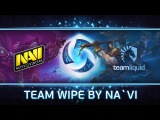Na`Vi vs Team Liquid: Team Wipe by Na`Vi @ Enter The Storm #3