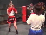 dww eu064 : Tatjana vs Reka - girls boxing match