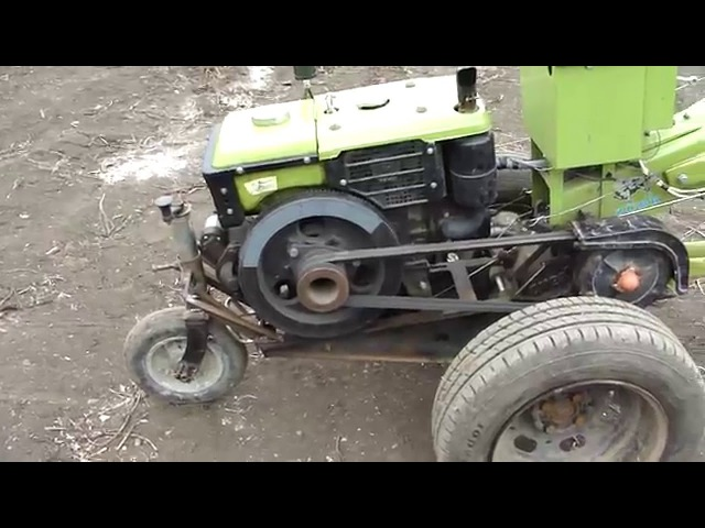 Опорное колесо для тяжелого мотоблока ЗУБР Q79E!