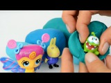 Play Doh Surprise Eggs Lego Peppa Pig Mickey mouse donald duck