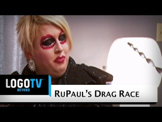 RuPaul's Drag Race Season 3: Shangela vs Mimi Imfurst - Queens from Outer Space Fight - Logo TV