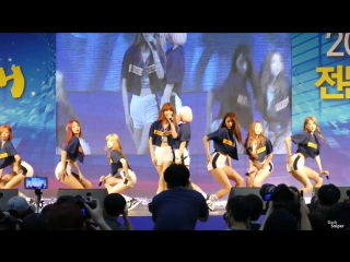 [FANCAM] 30.07.15 9MUSES - Hurt Locker @ College Expo