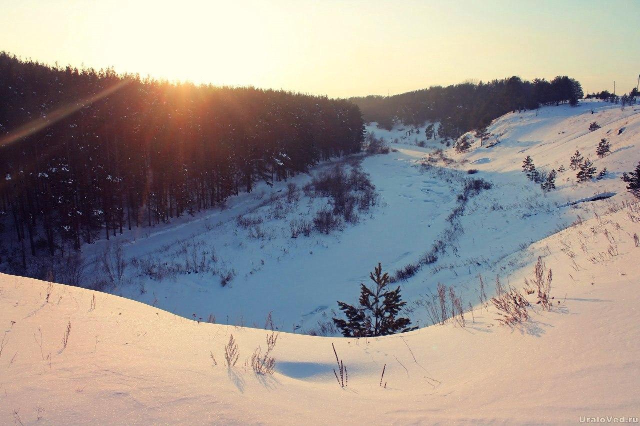 Река Ирбитка