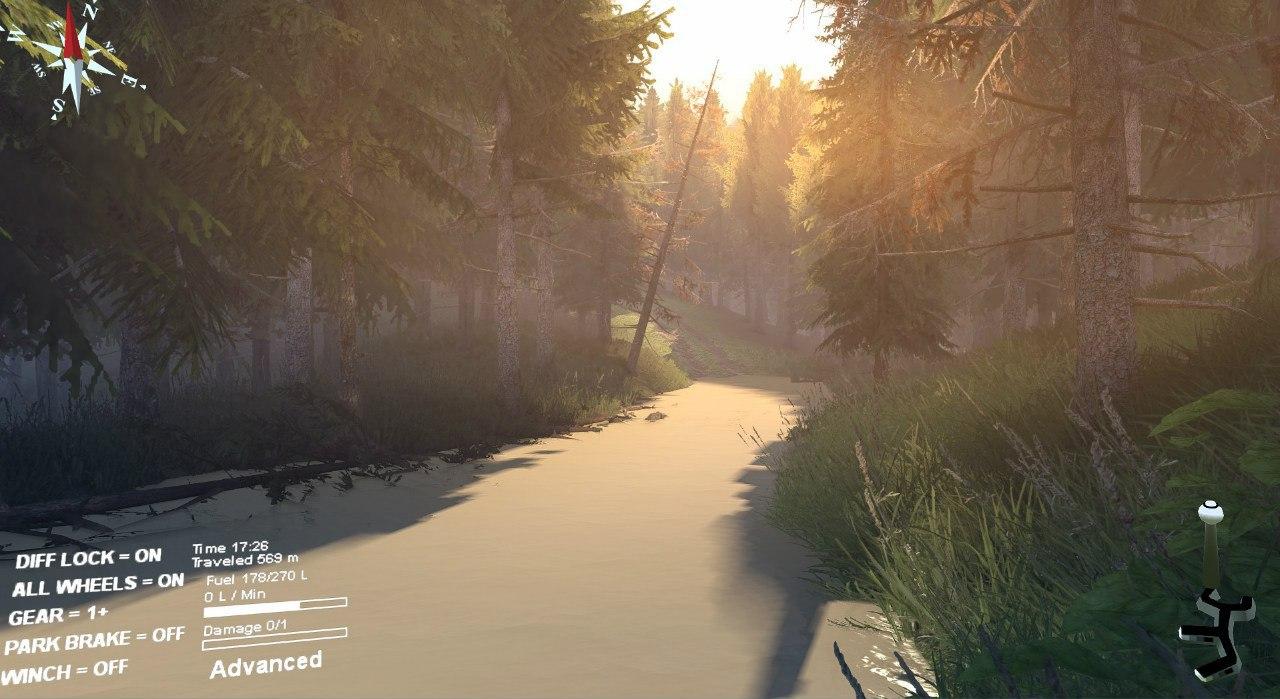 """Карта """"Сосновый бор"""" для 23.10.15 для Spintires - Скриншот 3"""