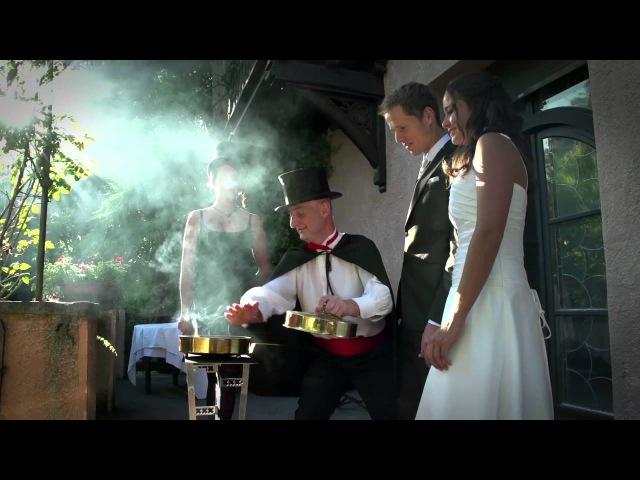 Белые голуби и Полёт живых декоративных бабочек для свадебной церемонии в Италии от свадебного ивент агентства Ninfea Reale