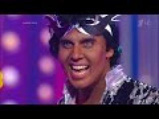 Максим Галкин. Митхун Чакраборти – «I Am A Disco Dancer». Точь‑в‑точь. Фрагмент выпуска.